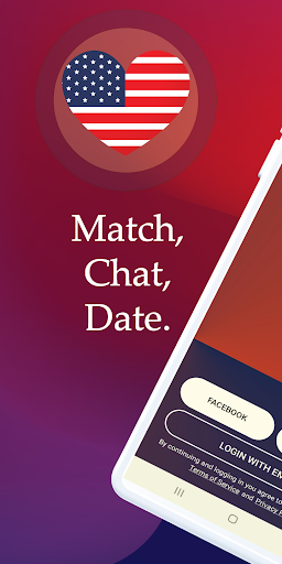 American Dating - (USA Dating) Match, Chat, Date. android2mod screenshots 1