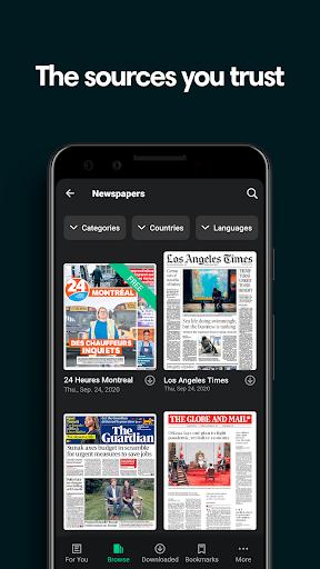 PressReader: Newspapers & Magazines 6.1.201112 Screenshots 1