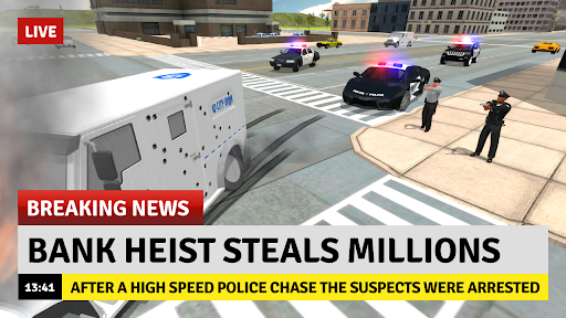 Cop Duty Police Car Simulator android2mod screenshots 5