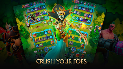 Random Clash - Epic fantasy strategy mobile games apkslow screenshots 15