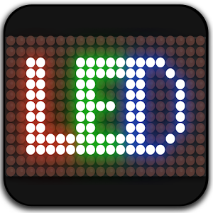 Led signboard:  led scrolling text with emojis