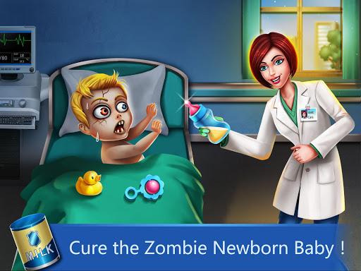 ER Hospital 2 - Zombie Newborn Baby ER Surgery android2mod screenshots 1