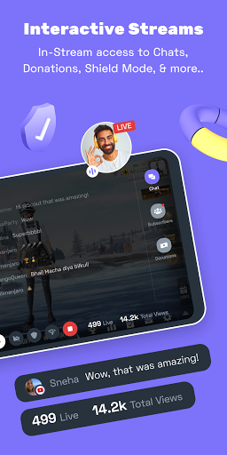 Turnip: Livestream, voice chat, gaming communities android2mod screenshots 3