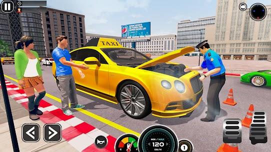 Grand Taxi Simulator : Modern Taxi Games 2021 2