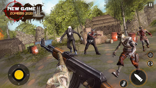 Free Games Zombie Force: New Shooting Games 2021 1.5 screenshots 5