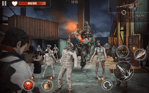 ZOMBIE HUNTER Mod Apk (Free Shopping) 4