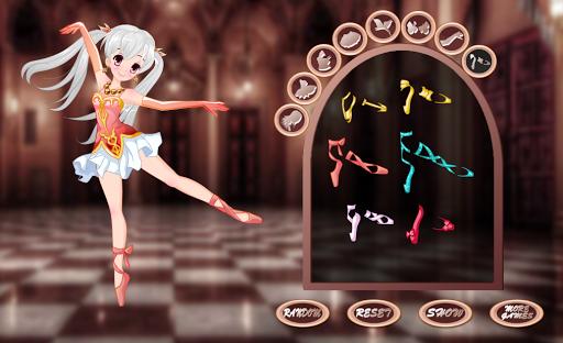 Pretty girl Ballerina dress up - girls games screenshots 4