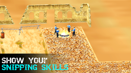 Sniper Battle – Call of Commando Shooting Games 3D For Android 9
