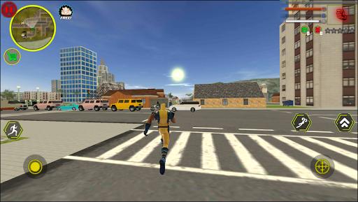 Super wolverne Rope Hero Gangstar OffRoad Crime Screenshot 2