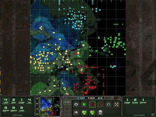 Land Air Sea Warfare RTS  screenshots 9