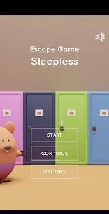 Escape Game Sleepless 1.0.2 Mod APK Latest Version 1