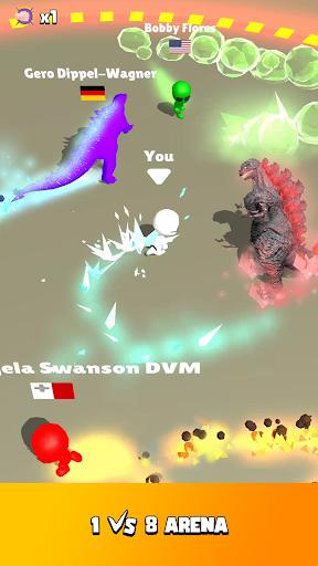 Fire Arena - King of Monsters apkdebit screenshots 2