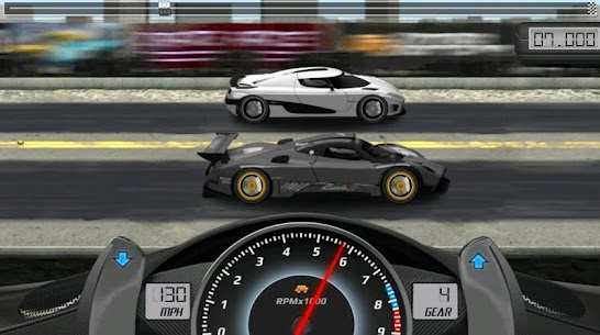"Download Drag Racing Racing game ""overtaking competitions"" Android + mode 2"
