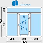 PVC and aluminium window and door design-iwindoor  Icon