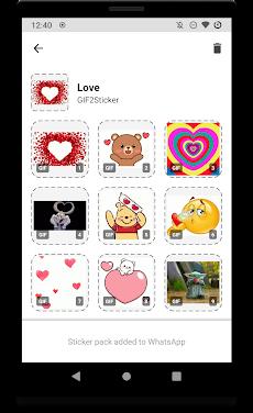 GIF2Sticker - Animated Sticker Maker for WhatsAppのおすすめ画像1