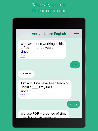 Andy - English Speaking Bot 2.8.2 Screenshots 5