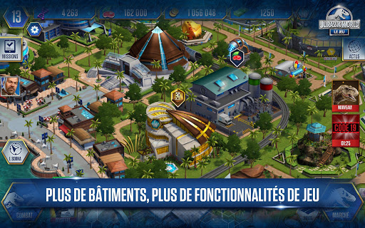 Code Triche Jurassic World™: le jeu (Astuce) APK MOD screenshots 2