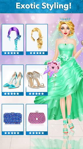 Ice Princess Wedding Dress Up Stylist 0.11 screenshots 5