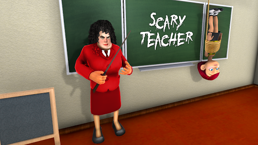 Scary Teacher Creepy Games: 3D Evil Teacher House 0.7 Screenshots 11