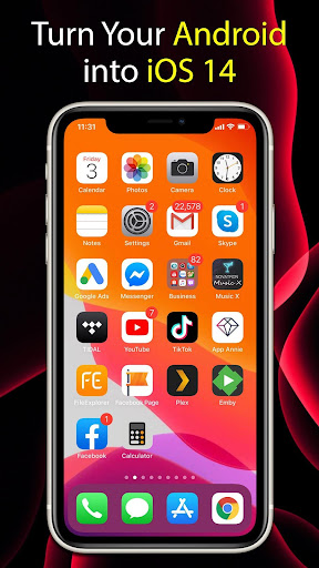 Launcher iOS 14  Screenshots 2