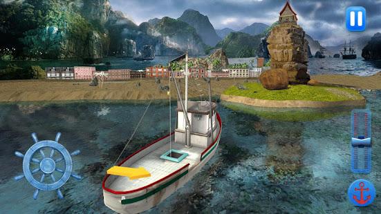 fishing boat driving simulator : ship games hack