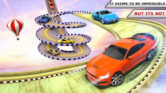 Superhero Car Stunts Car Games 7