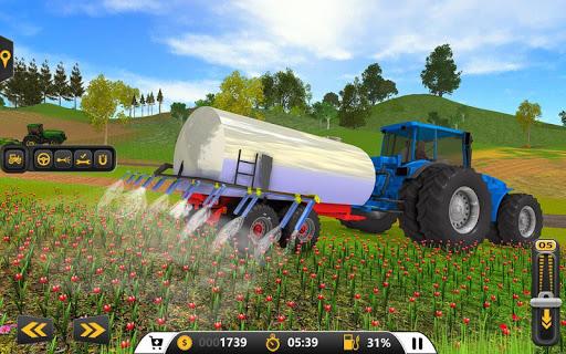 Drive Farming Tractor Cargo Simulator ud83dude9c 2021  screenshots 1