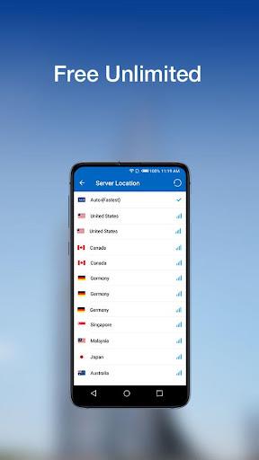 Ace VPN - A Fast, Unlimited Free VPN  Proxy 2.5.0 Screenshots 4