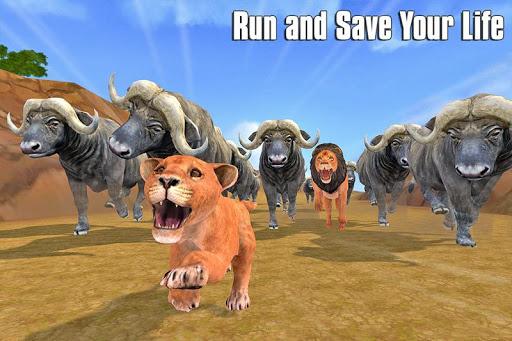 The Lion Simulator: Animal Family Game apktram screenshots 3