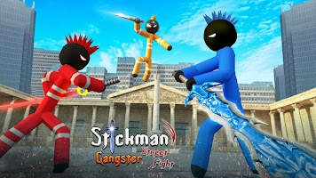 Stickman Gangster Street Fighting City