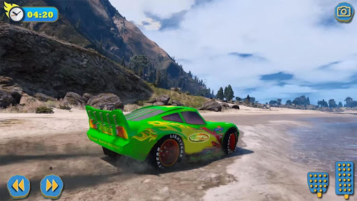 Superhero cars racing  screenshots 1