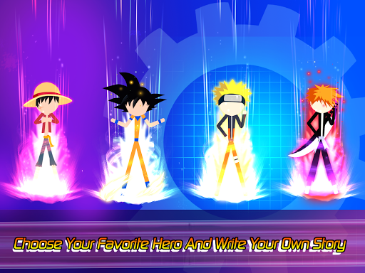 Super Stick Fight All-Star Hero: Chaos War Battle modavailable screenshots 11