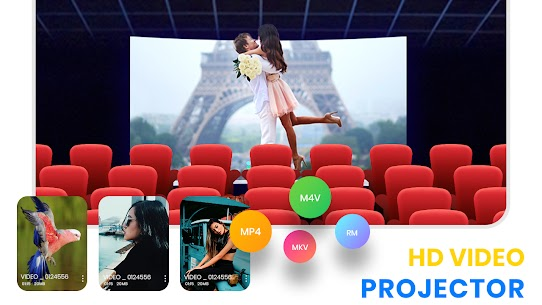 HD Video Projector Simulator – Mobile Projector Apk app for Android 2