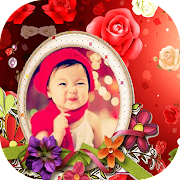 Colorful Flowers Photo Frames