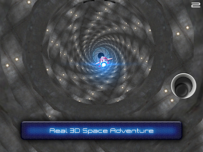 Tunnel Trouble 3D Space Jet Game MOD APK (Unlimited Money) 3