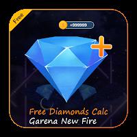 Free Diamonds Calc Garena New Fire