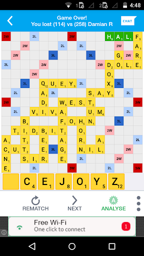 Lexulous Word Game 5.6.89 screenshots 9