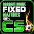 Fixed games-Correct score 101%.