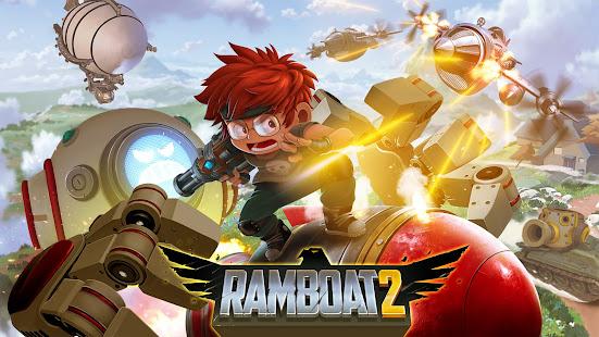 Ramboat 2 - Run and Gun Offline FREE dash game 2.0.9 Screenshots 8