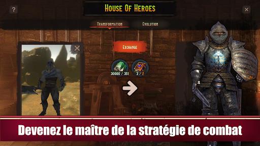 Télécharger Azedeem: Heroes of Past. RPG au tour par tour. APK MOD (Astuce) screenshots 2
