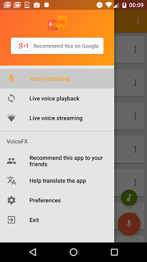 VoiceFX - Voice Changer with voice effects 1.1.8b-google screenshots 2