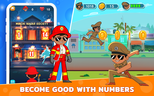 Little Singham : Kids Early Learning App | Games apktram screenshots 10
