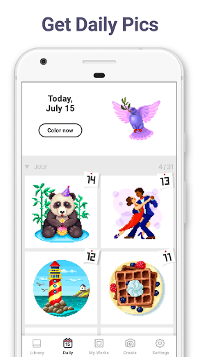 Pixel Art: Color by Number  Screenshots 5