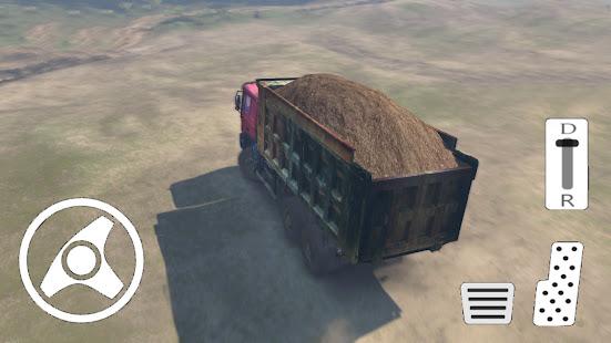 Sand Cargo Truck Transport Simulation Game apk