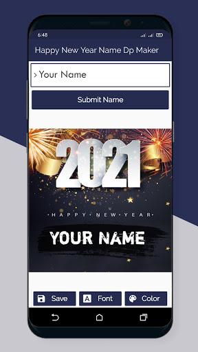 Happy New Year Name Dp Maker 2021  Screenshots 5