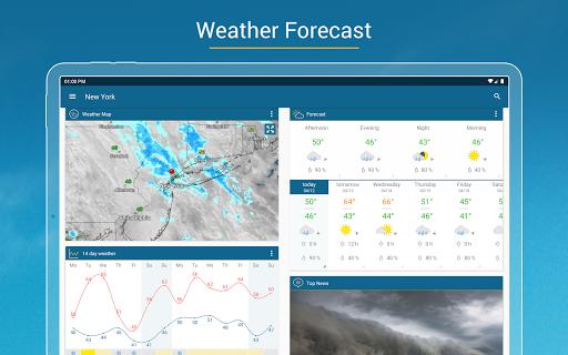 Weather & Radar USA - Storm alerts  Screenshots 9