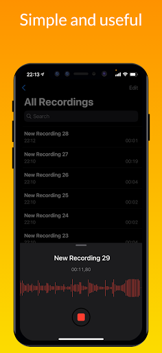 iVoice - iOS Voice Recorder, iPhone Voice Memos android2mod screenshots 2