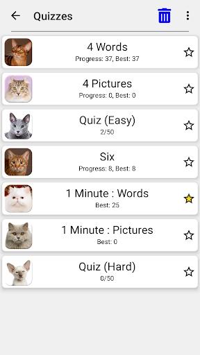 Cats Quiz - Guess Photos of All Popular Cat Breeds 3.1.0 screenshots 15