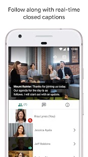 Google Meet - Secure Video Meetings Screenshot