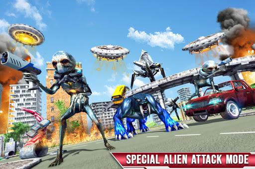 Royal Lion Robot Games- Dragon Robot Transform War  screenshots 6